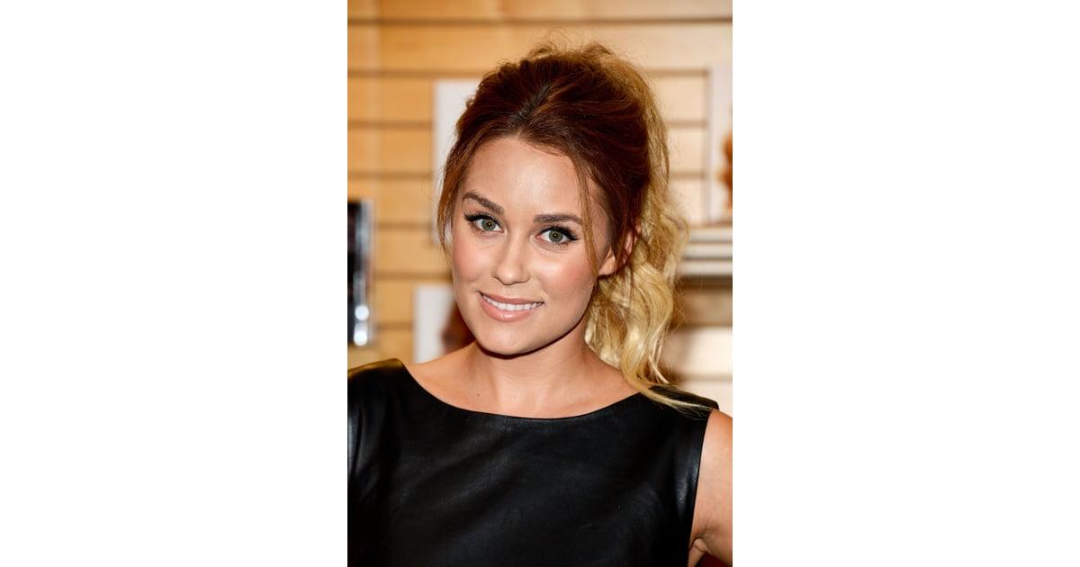 2012 lauren conrads best hair and makeup looks