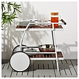 Wheel it out, and wheel it back in. VINDALSÖ Trolley ($149)