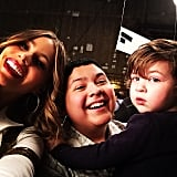 Sofia Vergara took a photo of her onscreen family as they filmed the last episode of the season!