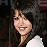 In 2008, Selena changed up her look with a blunt fringe, giving her a more mature appearance at the Wall-E premiere.