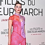 Saoirse Ronan at the Little Women Premiere in Paris