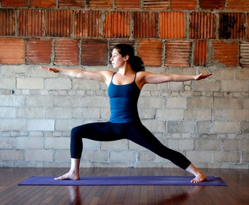Strike a Yoga Pose:  Warrior 2