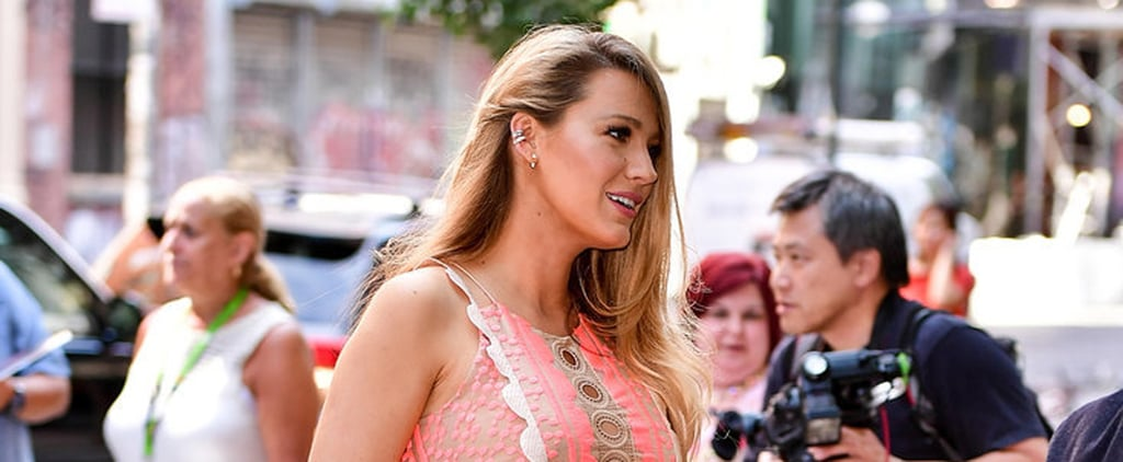 Blake Lively Practically Glows While Out and About in NYC