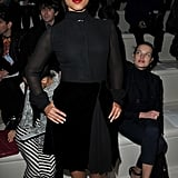 Alicia Keys went to Valentino.