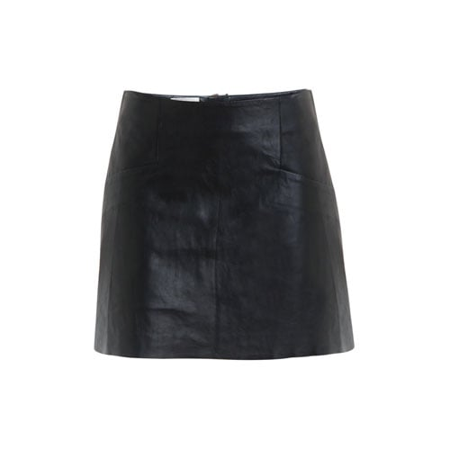 Leather A-Line Skirt, approx $753, Acne from Matches Fashion