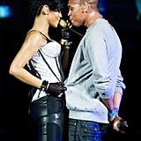 Rihanna and Chris in Chicago
