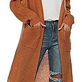 Kistore Long Sleeve Open Cardigan