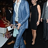 Charlotte Casiraghi is a girl after our own stylish heart. This denim-on-denim look, spotted at Gucci, is perfect — it doesn't ask for too much, and the almost metallic finish of the chambray hue gives her ensemble a polished effect.