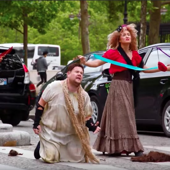 James Corden's Les Miserables Crosswalk the Musical Video