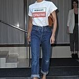 Victoria Beckham at NYFW Spring 2018