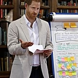 Prince Harry Meeting With Dr. Jane Goodall July 2019
