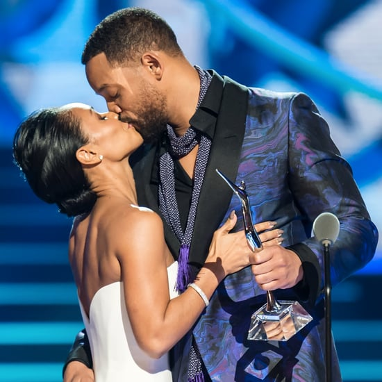 Jada Pinkett Smith Will Smith PDA at BET Black Girls Rock