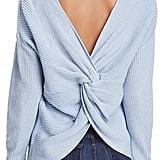 Endless Rose Twist-Back Sweater