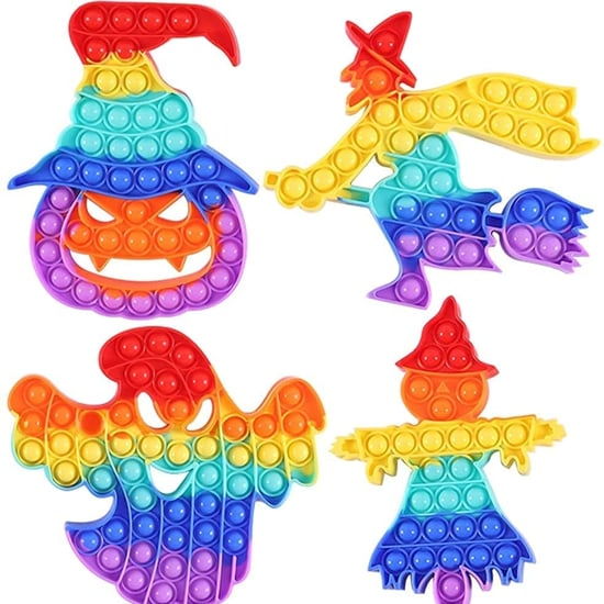Halloween Bubble-Pop Fidget Toys