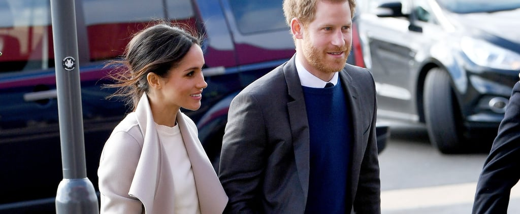 Meghan Markle Just Added a Surprising Splash of Colour to Her Very Classic Outfit