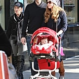 Pictures of Amy Adams and Her Baby Aviana in LA