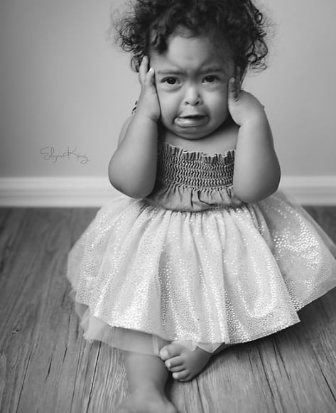 f2e9260c6db0 Mom s Pictures of Hangry Baby With Down Syndrome