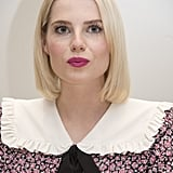 Lucy Boynton at the Bohemian Rhapsody Press Conference