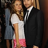 Tobey Maguire snuggled up to his wife, Jennifer Meyer.