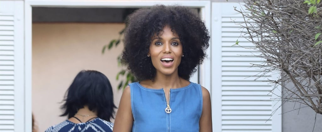 """Kerry Washington Is Morphing Into """"Island"""" Olivia Pope IRL With Her New Hair"""