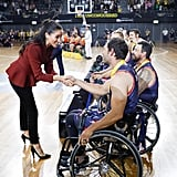 Meghan Markle Kissed on Cheek By Invictus Games Athlete 2018