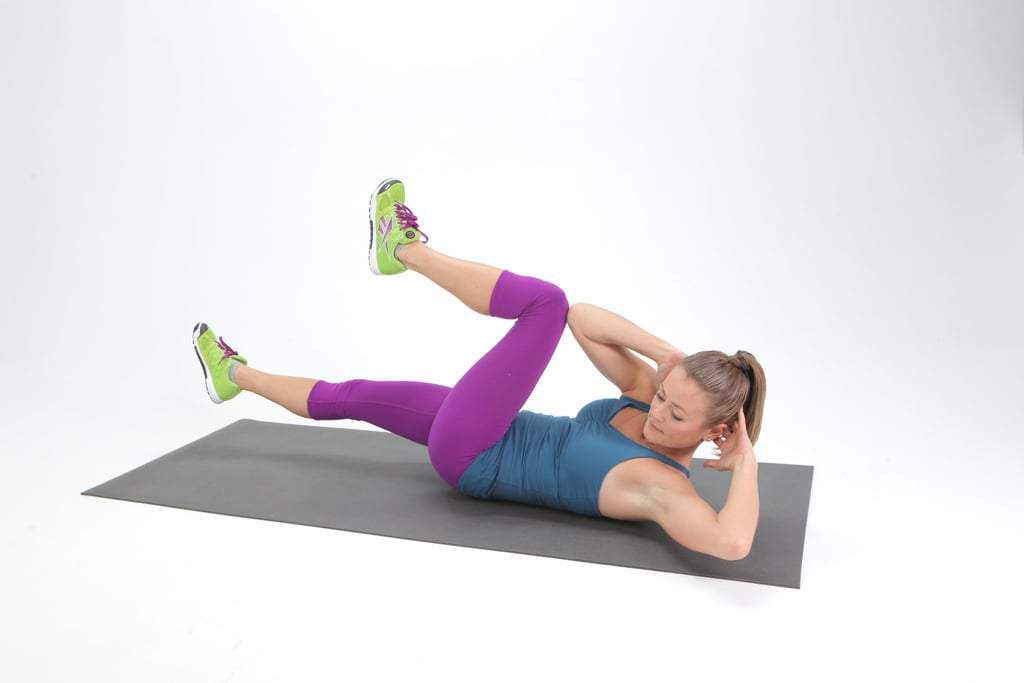 Challenge Yourself With Bicycle Crunches