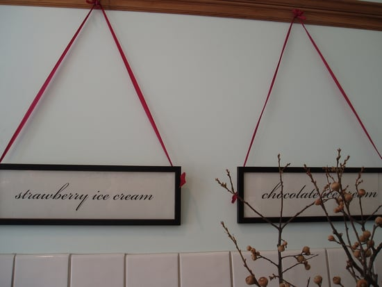 Cool Idea: Hang It With Ribbons