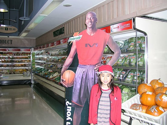 Girl Obsessed With Michael Jordan Carried His Cardboard Cutout with Her Everywhere: 'It Was Love at First Sight!'