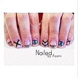 Peekaboo Nails