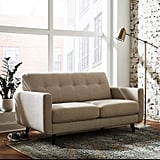 Rivet Sloane Mid-Century Modern Tufted Loveseat Sofa Couch