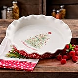 "The Pioneer Woman Holiday Cheer 9"" Ruffle-Top Pie Plate ($13)"