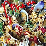 The book will feature plenty of dinner inspiration, like this orzo and clams.