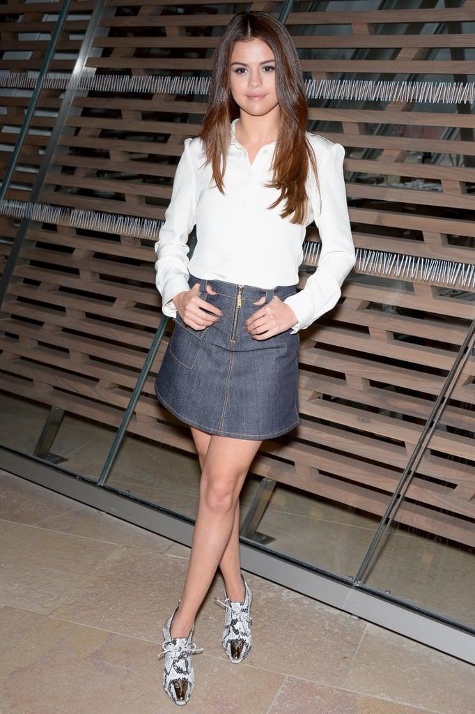 Selena Gomez at Louis Vuitton Fall 2016
