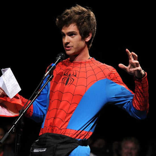 Andrew Garfield as Spider-Man at Comic-Con Video