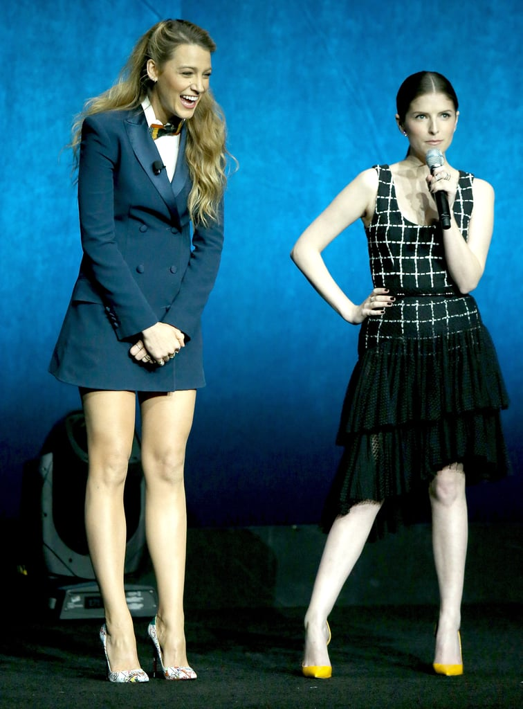 Blake Lively and Anna Kendrick Pictures