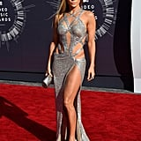Jennifer Lopez Wearing Charbel Zoe to the 2014 MTV Video Music Awards