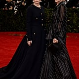 Mary-Kate and Ashley Olsen at the 2014 Met Gala
