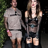 Audrina Patridge and Corey Bohan as a Goth and Lt. Dangle