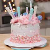 Learn How to Make This Whimsical Cotton Candy Cake