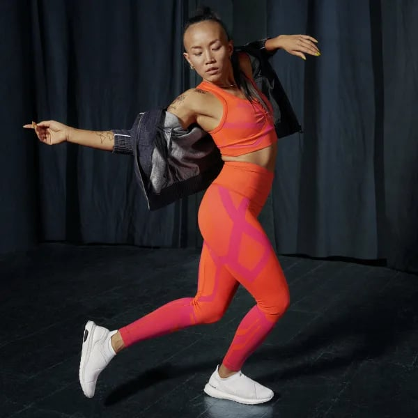 Adidas Formotion Sculpt Two-Tone Tights and Studio Two-Tone Bra