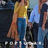 Amal Clooney's Fringe Bag Was Designed by Her Sister, Tala
