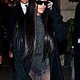 Kim Kardashian Versace Outfit March 2019