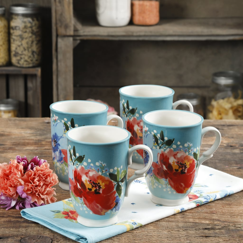 The Pioneer Woman Melody 18-Ounce Cups, Set of Four