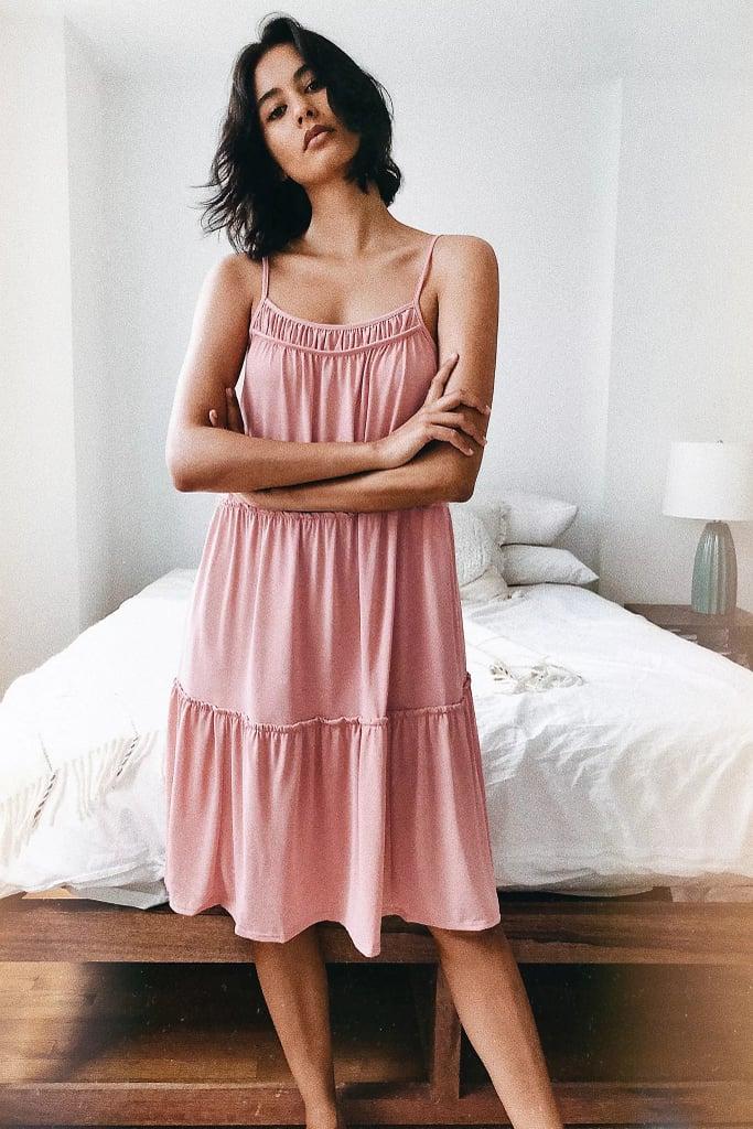 Saturday/Sunday Etta Tiered Minidress