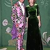 Hamish Bowles and Anna Wintour at The Green Carpet Fashion Awards 2019