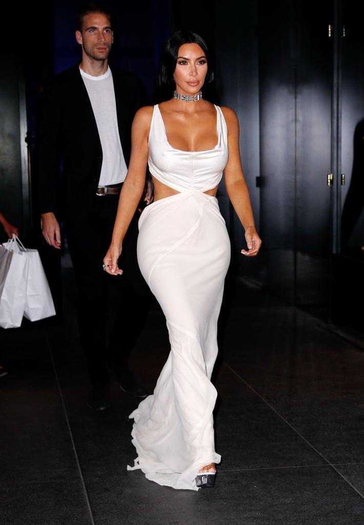 Kim Kardashian's Tiffany & Co. Choker October 2018