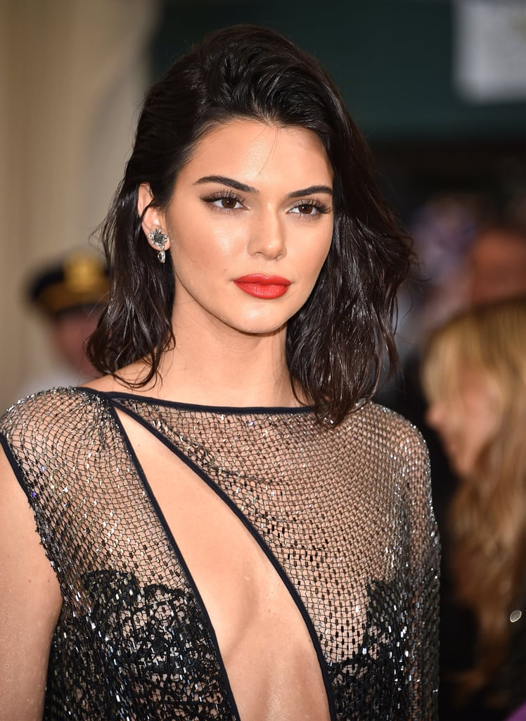 Kendall Jenner Makeup and Lipstick at the Met Gala 2017