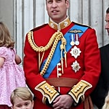 Royal Family at Trooping the Colour 2017 Pictures