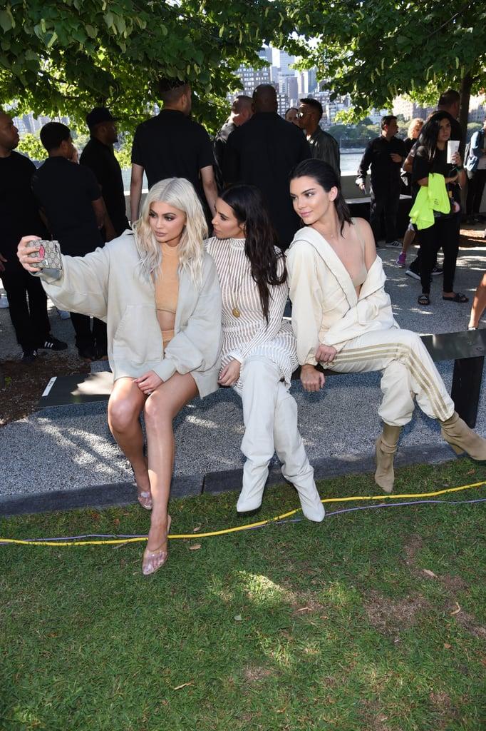 Kardashian-Jenner Outfits at Yeezy Season 4 Show
