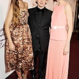 Amber Le Bon, Christopher Kane, and Edie Campbell